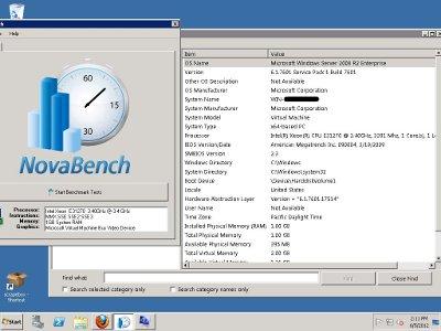 Powerup VPS desktop