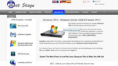 Hoststage VPS offer